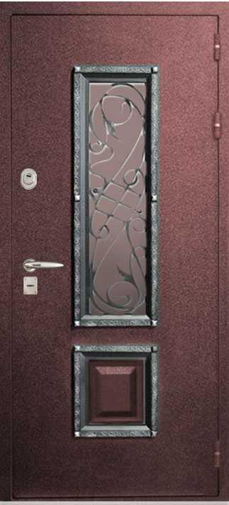 Металлические двери магнолия