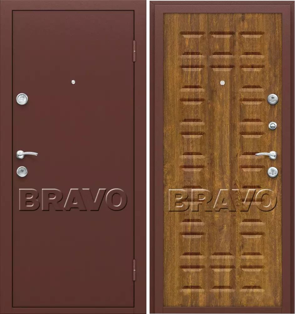 стальные металлические входные двери п